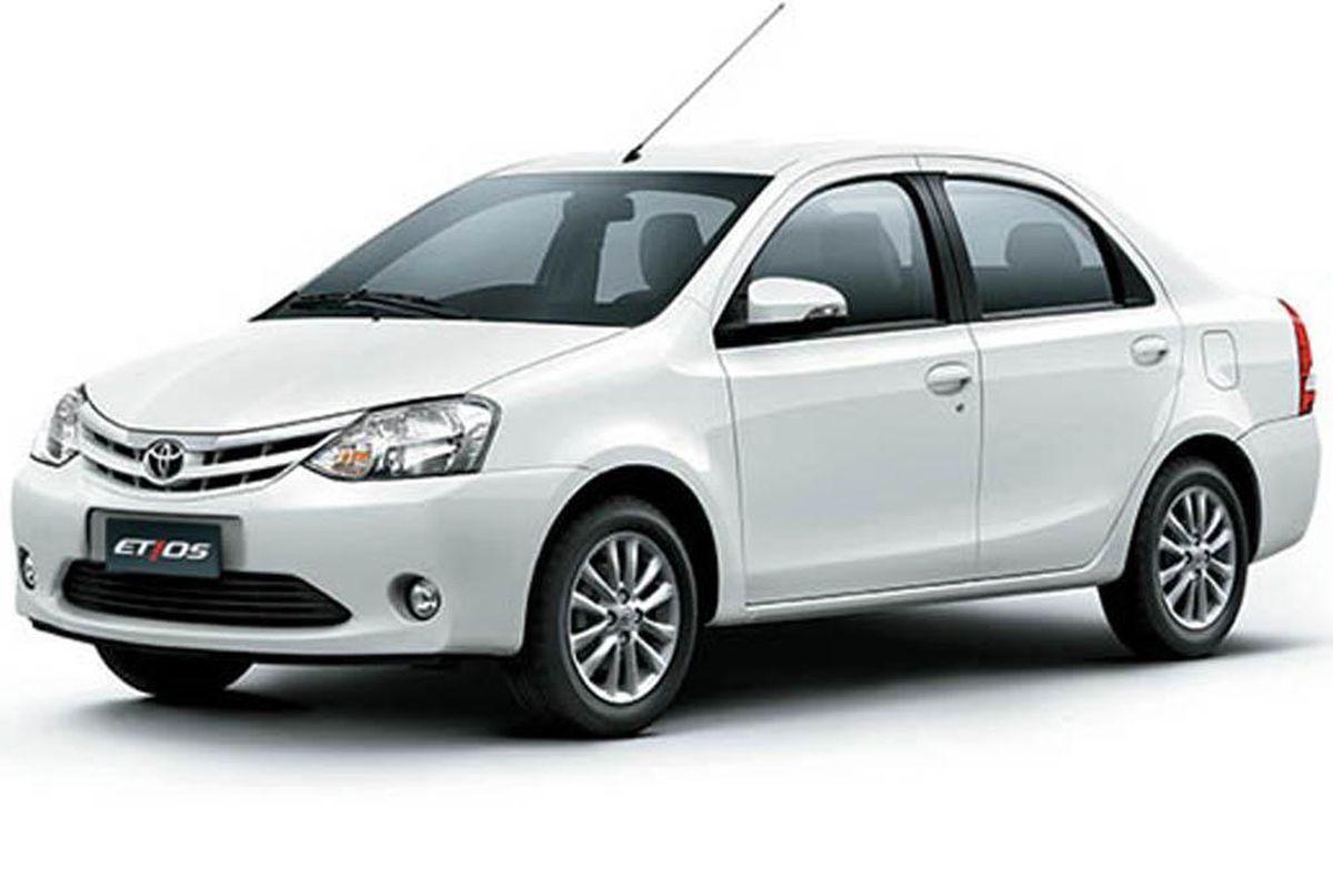 Toyota Etios taxi at era cab